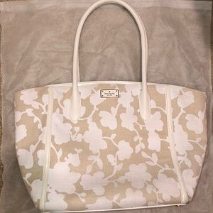 ♠️ Kate Spade Floral Caroline Fabric Tote Bag
